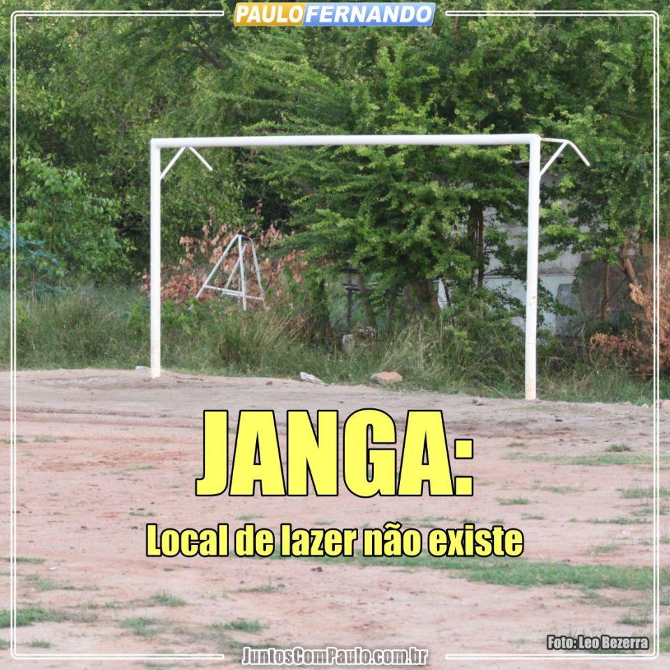 Áreas de lazer abandonadas no Janga (1)