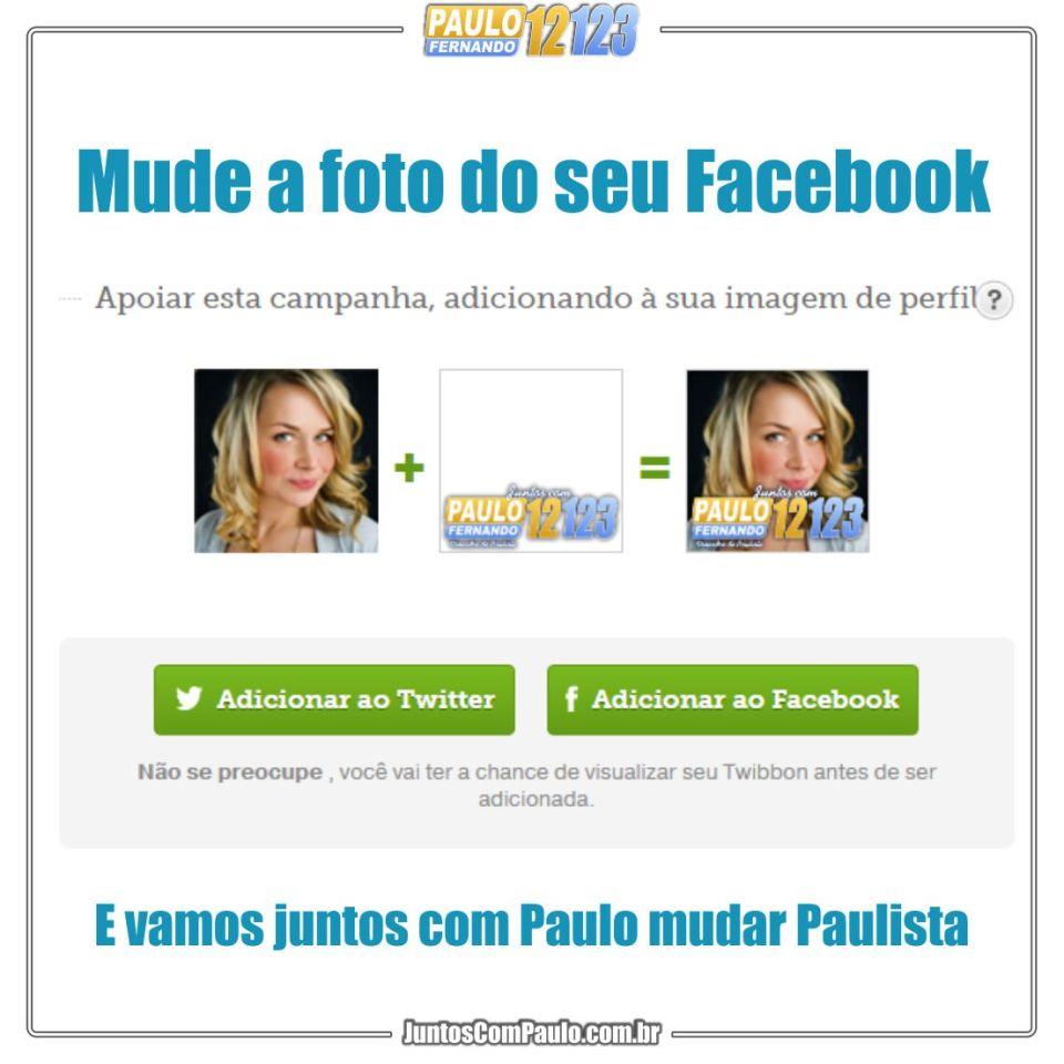 Participe você também com Paulo Fernando