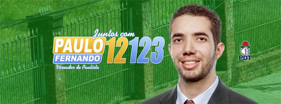 Paulo Fernando vereador de Paulista