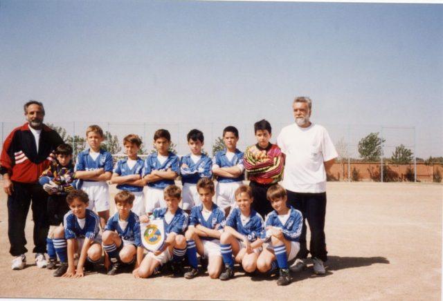 Plantilla Vadorrey BenjamínA 94-95 Torneo Balsas