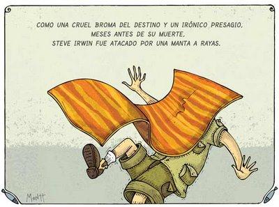 Alberto Montt - manta a rayas
