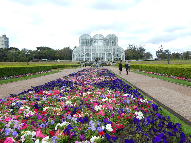 O que fazer em Curitiba-PR: Jardim Botânico, o cartão postal da cidade