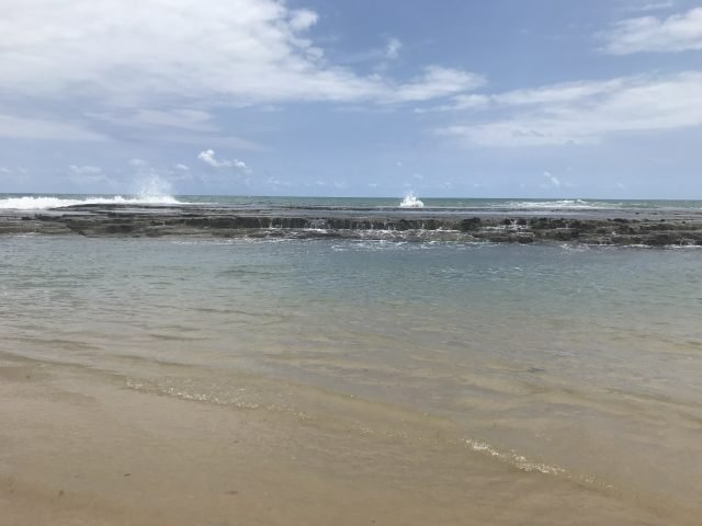 Pousada Porto Parus: piscinas naturais na praia de barra de Tabatinga (RN)!