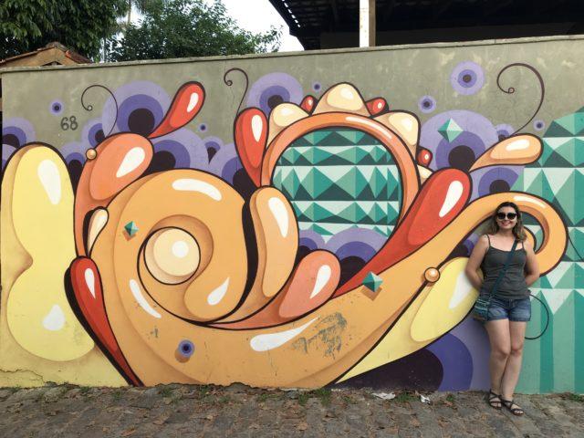 """""""Beco da Mulher Maravilha"""", arte urbana em Maresias (São Sebastião-SP)"""
