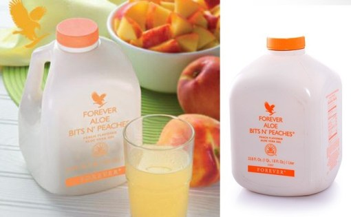 Forever Aloe Bits N' Peaches® provides another great taste to enjoy with its 100% stabilized aloe vera gel