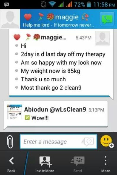 IMG 20160912 WA0007 - Complete Weight Loss Program - Forever Living Clean 9