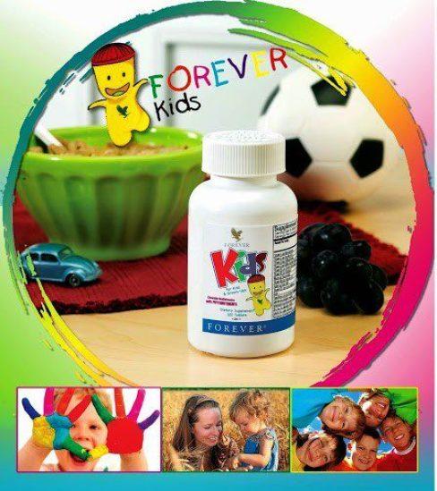 354 Forever-Kids-Chewable-Multivitamins