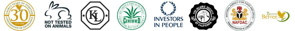 foreve living internation seal of approver logos