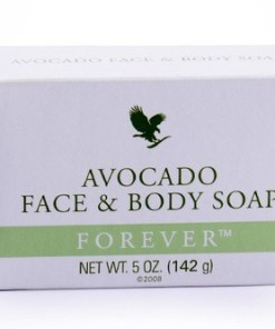 forever avocado face body soap EE