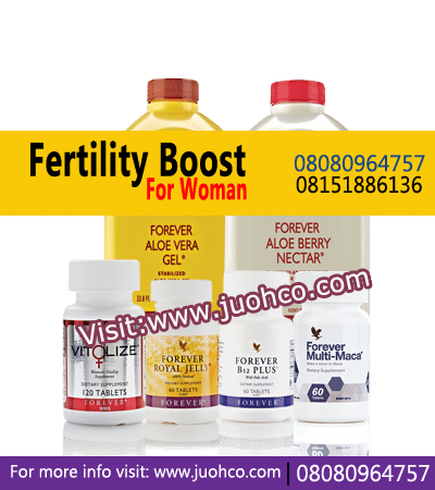 Fertility Boost For Woman Natural Supplement that helps you eliminate all toxins from the body and prepare the uterus for fertilization