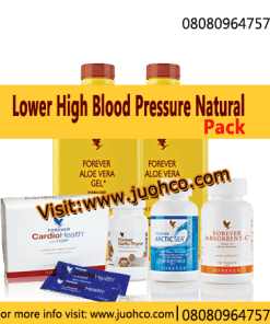 Natural Products for Lowering High Blood Pressure - Hypertension