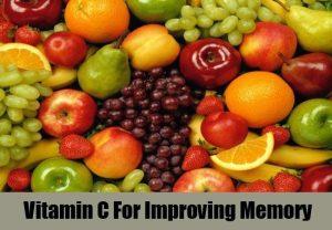 Vitamin C For Improving Memory
