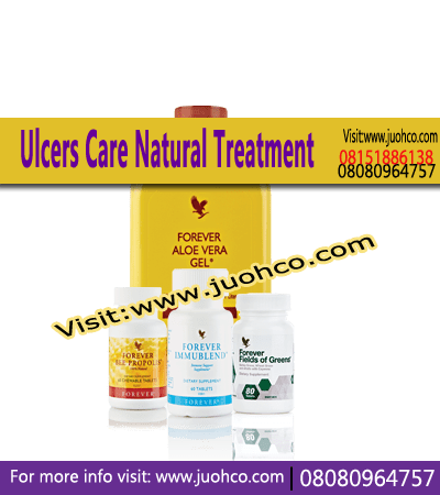 Ulcers Care Natural Treatment Products Combination