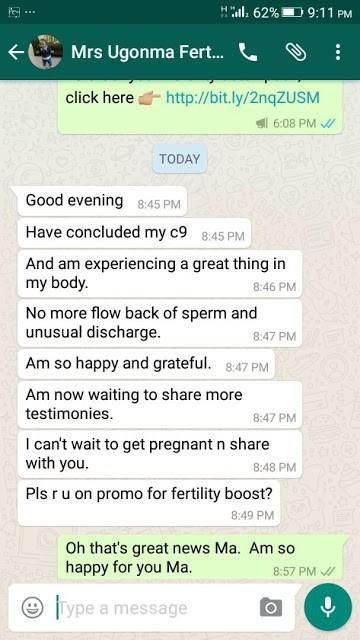 Fertility Cleanser Using Forever Living's Clean 9   C9 for Fruit of