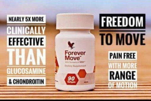 Muscle and joint stress Softgel capsules, Forever Move
