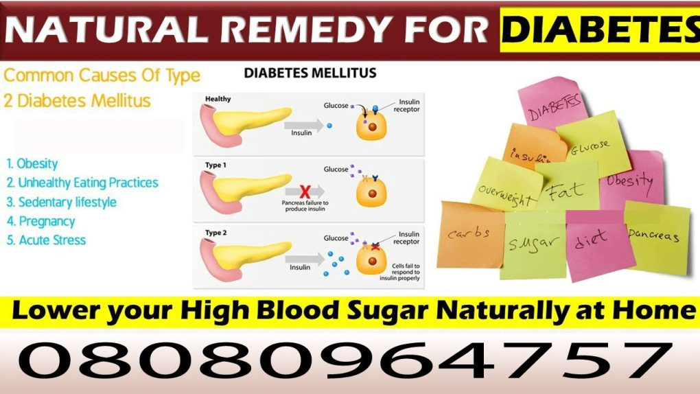 Natural Remedy for Diabetes   Control Blood Sugar