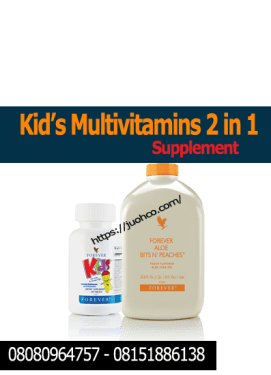 Kid's Multivitamins 2 in 1 Supplement | Forever Kids and Bit's N Peaches