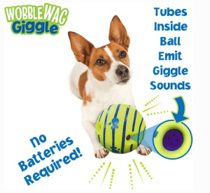 Wobble Wag Toy