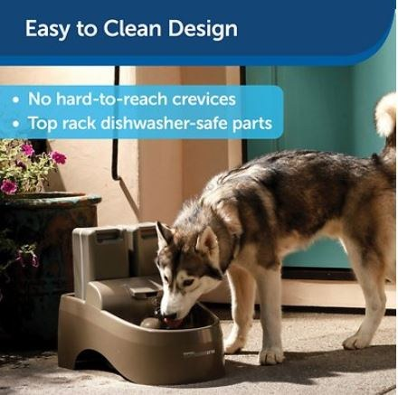 Large capacity water bowl