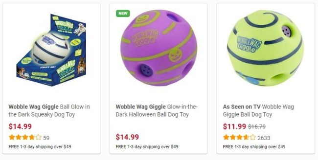 Wobble Wag Dog Toy