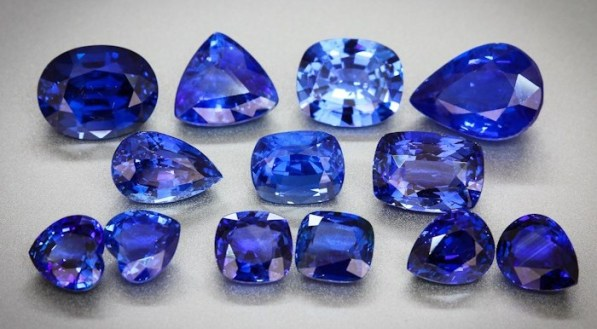 Selection of Sapphires