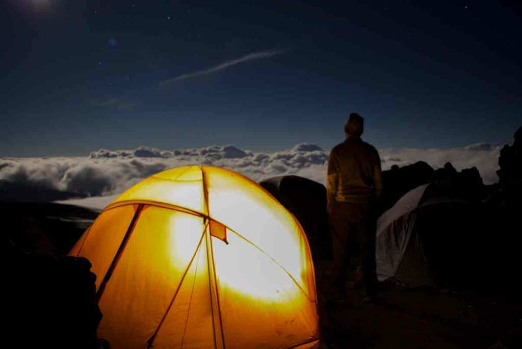 Kilimanjaro full moon clim