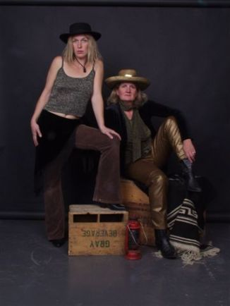 Roxanne Hall & Debra Reid