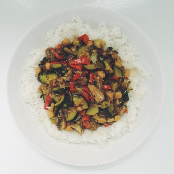 Veganes High Carb Curry