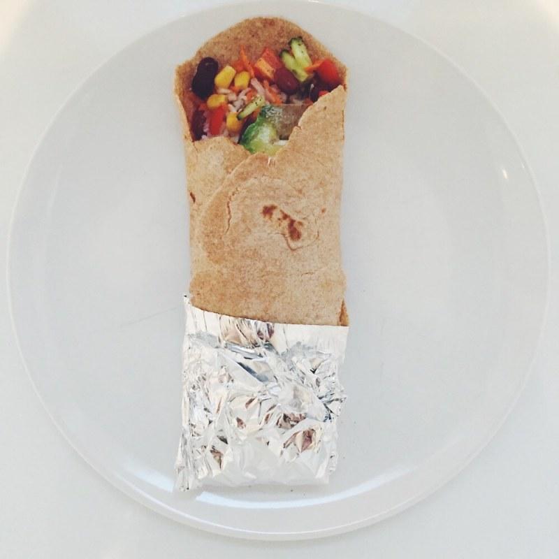 Vegane High Carb Low Fat Burritos