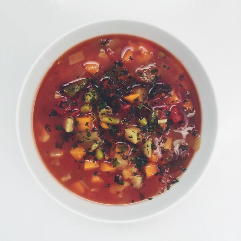 Gemüsesuppe zum Abnehmen