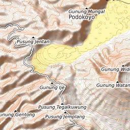 Mount Bromo Weather Forecast 2329m