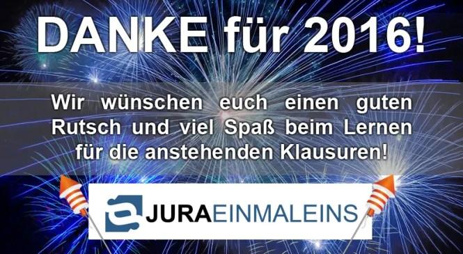 Frohes neues Jahr 2017!