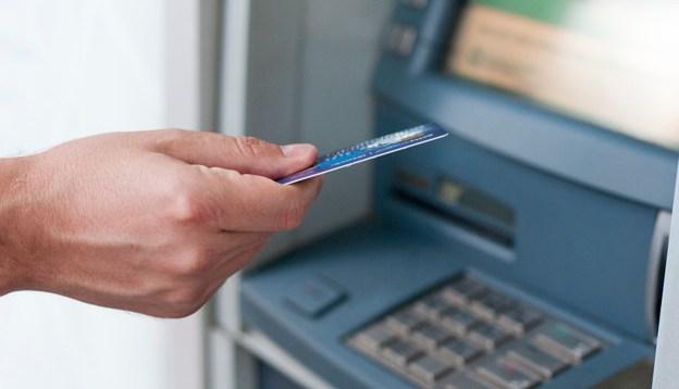 Skimming ATM