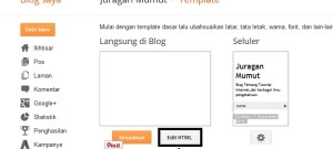 Cara Membuat Menu Bar Di Blog