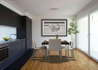Appartement neuf de 3.5 pièces avec balcon