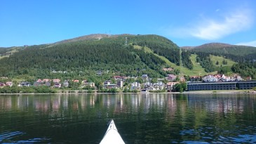 Åre from the kayak
