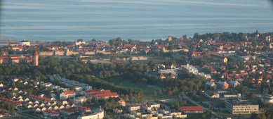 The walled city of Visby