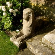 A sphinx at Hinton Ampner