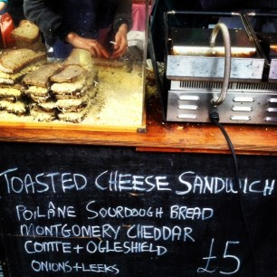 The best cheese toastie in the world