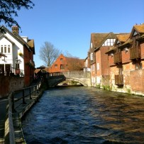 The Itchen at Winchester