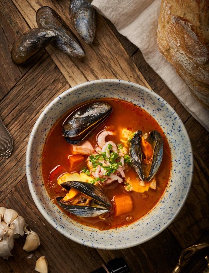 Sydfransk fiskgryta