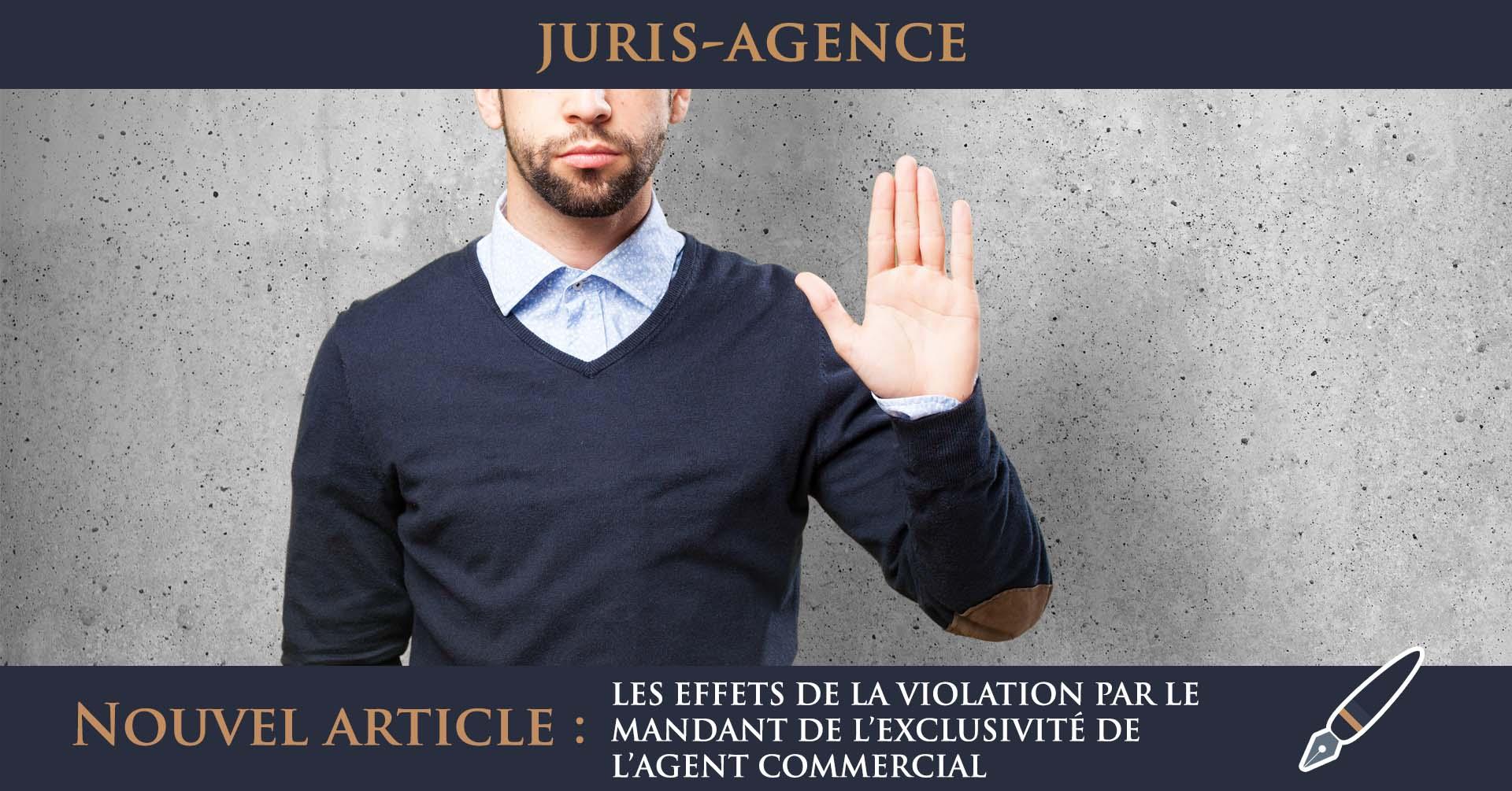 effets violation mandant agent commercial