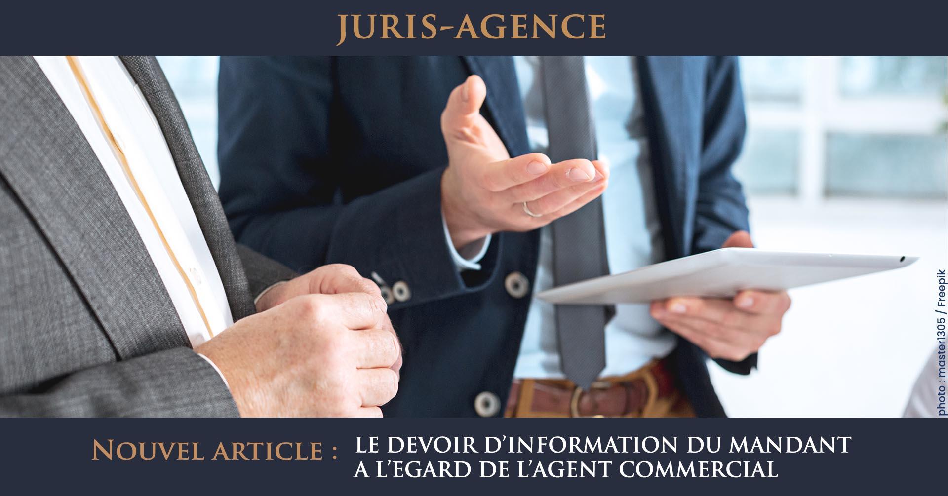 devoir information mandant agent commercial