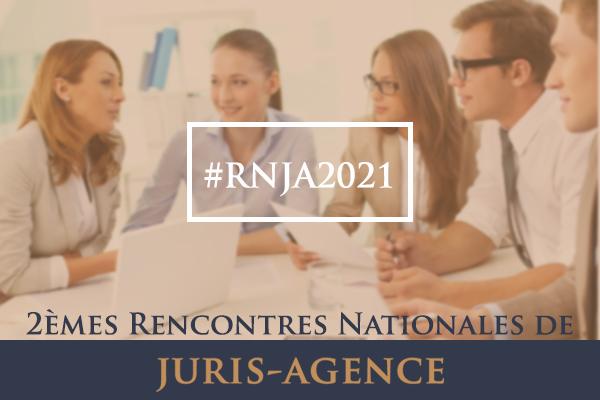 rencontres nationales de juris-agence 2021