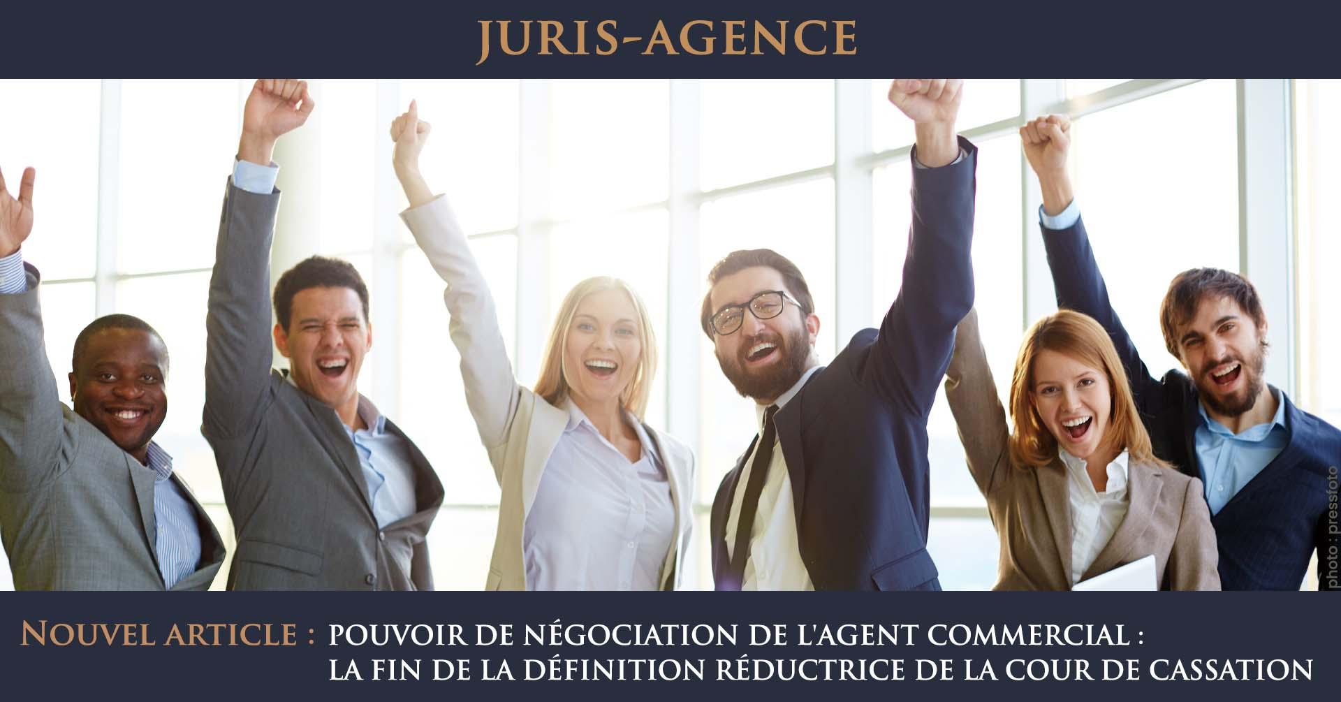 illustration réussite agent commercial