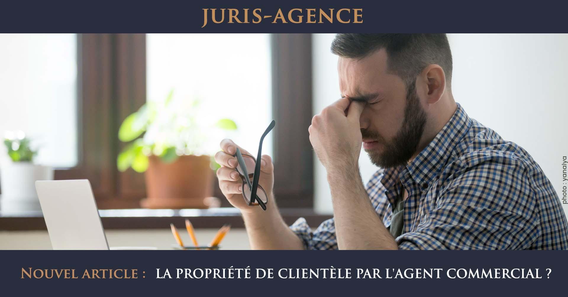 propriété clientèle et agent commercial