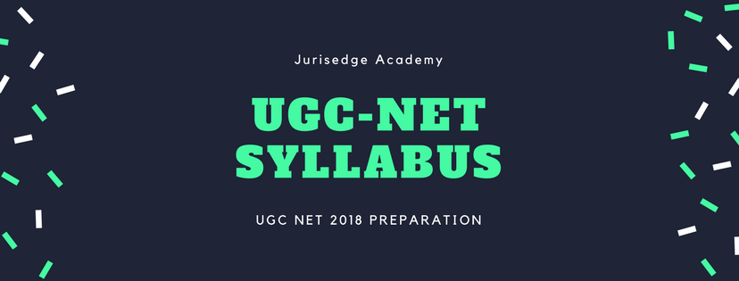UGC CBSE-NET LAW PAPER II SYLLABUS