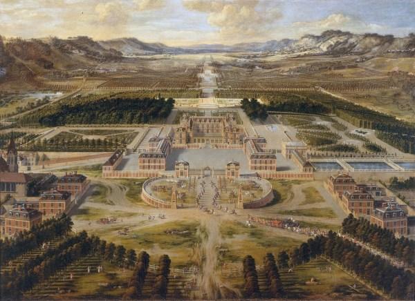 Le château de Versailles au temps de Louis XIV