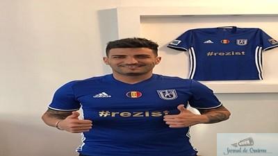 Fotbal : FC U Craiova a realizat inca un transfer ! Andrei Cosma este de azi in lotul craiovean .. 1
