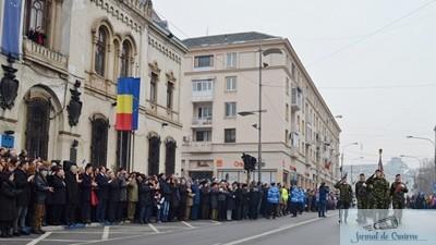 Prefectura Dolj organizează azi, 24 ianuarie 2018, o ceremonie militară dedicată celebrării Zilei Unirii Principatelor Române în Piaţa Alexandru Ioan Cuza din municipiul Craiova 1